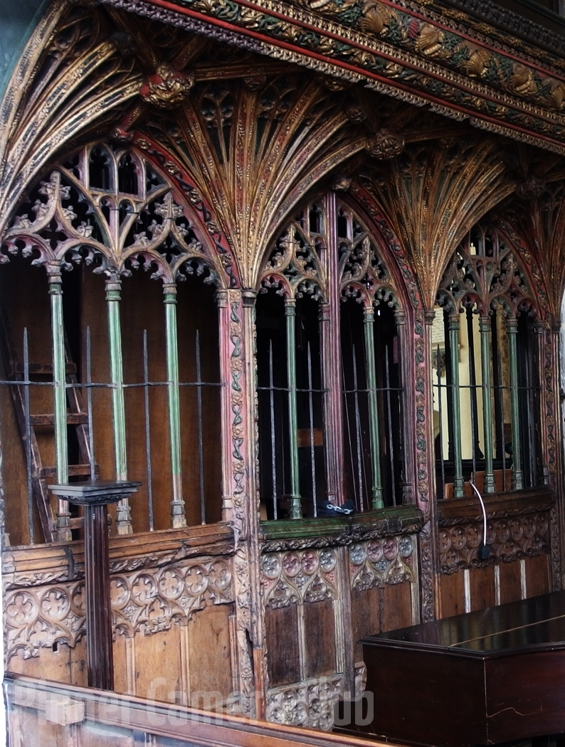 29. WIDECOMBE ROOD SCREEN by Ann Wignall
