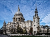 John Dobson - St Paul's Cathedral by John Dobson