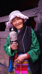 Veronica Hill - Tibetan Woman By Veronica Hill