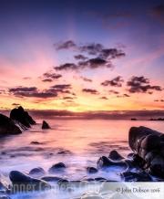 John Dobson - Duckpool Sunset by John Dobson