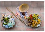 Street Seller by Colin Sharp