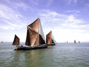 Sailing Barge Race by Martin Roberts