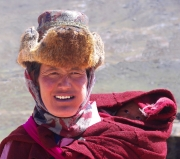 Tibetan Mother By Veronica Hill