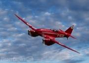 De Havilland DH88 Comet by Simon Mee