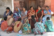Gossipping In Katmandu by Steve Reiter