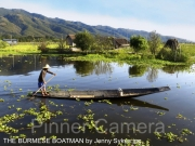 THE-BURMESE-BOATMAN-by-Jenny-Sykes