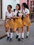 74 Giggling Schoolgirls
