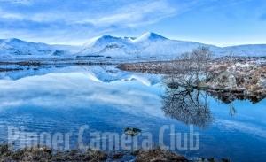 Lochan na h-Achlaise by John Dobson