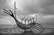 Viking Monument Reykjavik by Michael Lurie