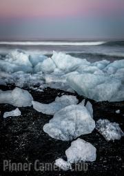 Evening Ice by Tim Dowd