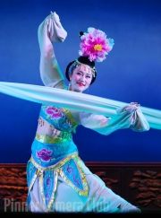Chinese Long Sleeve Dancer By Veronica Hill