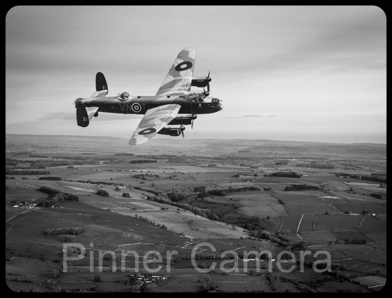 Lancaster over the Peak District