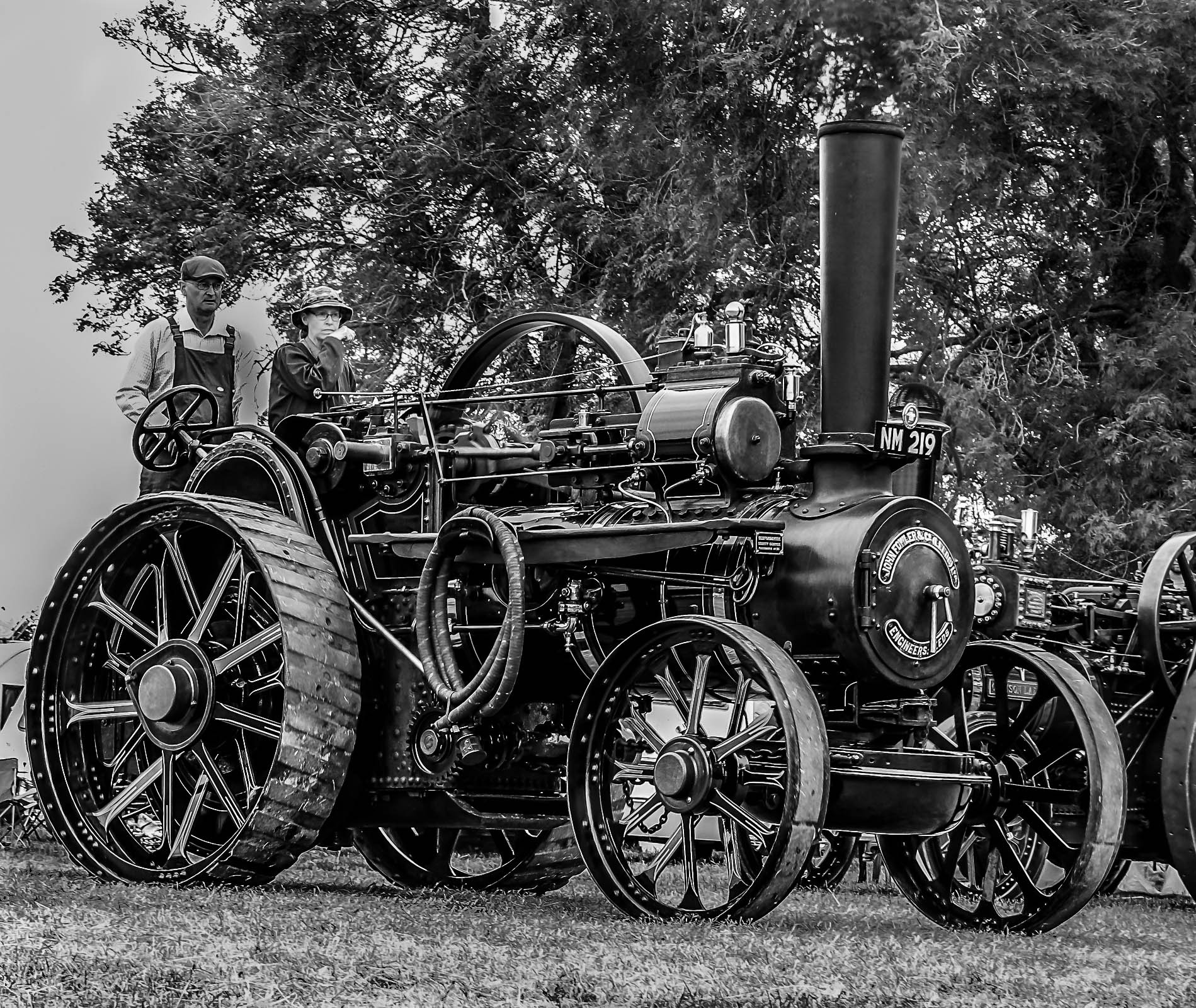Steam-Traction-Engine