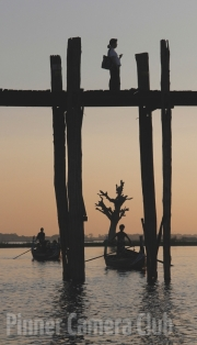 U BAIN BRIDGE - BURMA - by Stephen Myers
