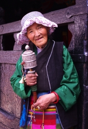 TIBETAN-WOMAN-by-Veronica-Hill